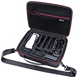 Smatree Carrying Case Compatible for DJI Mavic Air Fly More Combo,Hard Shell Travel Case for DJI Mavic Air Drone and Accessories