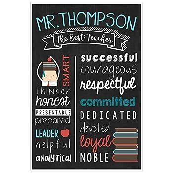 Best teacher appreciation poster Reviews