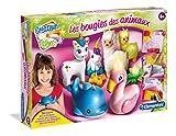 Clementoni- Créateur de Talents-Bougies Animaux- 52403