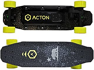 ACTON Blink Board - Electric Skateboard - Black with California Bear Graphics by Act-On