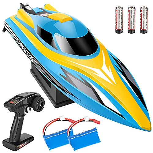 PHYWESS RC Boat Remote Control Boat, 2.4Ghz Fast RC Boats for Adults...