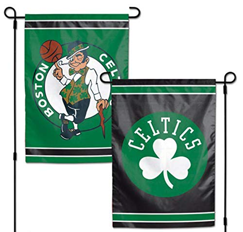 WinCraft Boston Celtics NBA 12.5' x 18' 2-Sided Garden Flag (Pole not Included)