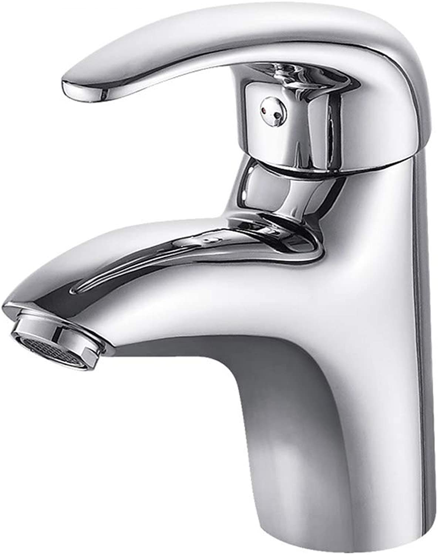 GXQSLT Küchenwasserhahn, Waschbeckenhahn, Kupfer Einzelloch-Einzelgriff Multifunktions-Hei- und Kaltwasserhahn