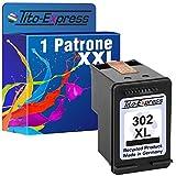 Tito-Express PlatinumSerie 1 Patrone für HP-302XL Deskjet 1110 2130 3630 3631 3632 3633 3634 3636 3637 | Black 20ml XXL-Inhalt