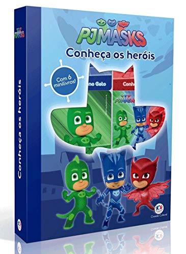 PJ Masks - Conheça os heróis: Conheça os Heróis - Com 6 Minilivros!