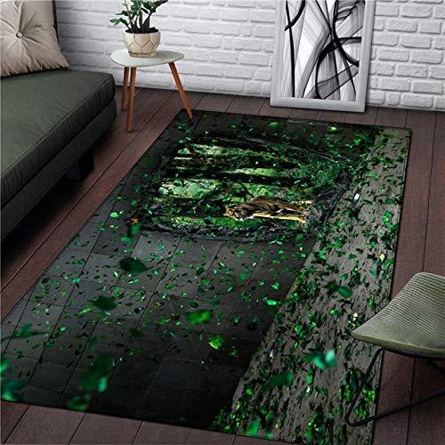ZFDM Stil Teppich Haushalt Recording Tape Picknick Quadrat Teppich Einfache Küche Zimmer Badezimmer Wohnzimmer Fashion Boy Teppich -180 x 260 cm, Naturfaser, 5, 120*200cm