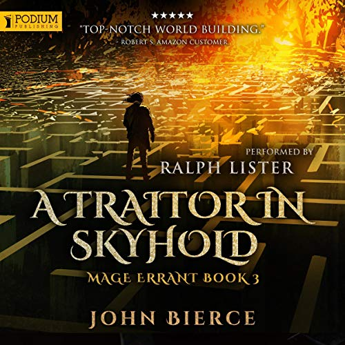 A Traitor in Skyhold audiobook cover art
