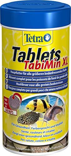 Tetra Tablets Tabimin XL, Mangime completo per grandi pesci, 133 Multitablets , 250 ml