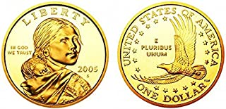 2005 S Sacagawea Native American Proof US Coin DCAM Gem Modern Dollar $1 $1 Proof DCAM US Mint