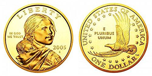 2005 S Sacagawea Native American Proof US Coin DCAM Gem Modern...