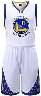 NBA Basketball Uniform Golden State Warrior Retro, Clay Thompson, Durant, Green Jersey Summer Breathable Undershirt Shirt Jersey Shorts
