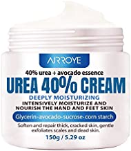 Urea 40% Foot Cream 5.29 oz ? Best Callus Remover For Feet, Knees& Elbows ? Natural Moisturizes Nourishes Softens Dry, Rough, Cracked, Dead Skin