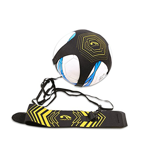 Purchase Uoging Football Kick Trainer Training Aid Hands Free Solo Practice with Belt Elastic Rope f...