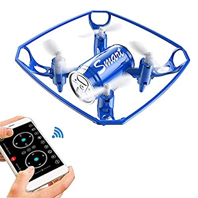 Masefu Mini Drone Dancing with Music, Easy to Play Helicopter Nano Quadcopter with Phone APP Control, Altitude Hold/Headless Mode/Trajectory Mode/Programming Flight, Gift for Kids, Beginner