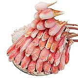 生 ズワイガニ  特大 7L~5L 生ずわい蟹 半むき身満足セット 1.8kg超