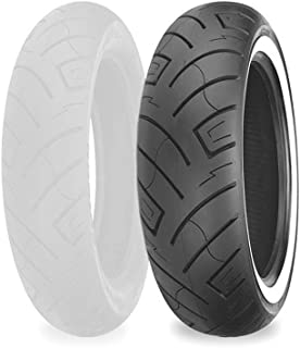 Shinko 777 Front Tire - Whitewall (130/90-16 Reinforced)