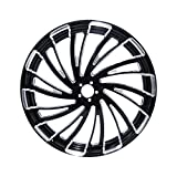 XFMT 26'x3.5' Windmill CNC Front Wheel Rim Dual Disc Wheel Hub For Harley Touring Road King Street Glide Electra Glide Non ABS Model 2008-2020