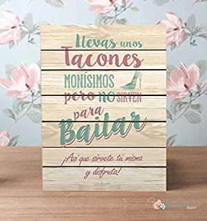 comprar comparacion Noviembre Dulce Cartel para Boda Tacones y Baile
