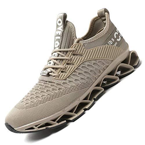 Zapatillas Running Deportivas Hombre Sneakers Casual para Correr Gimnasio Tenis Fitness Comodos Deportivos Calzado Ligero Transpirable