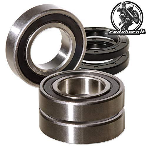 endurocult Rear Wheel Bearing Kit Compatible with Yamaha for sale  Delivered anywhere in UK