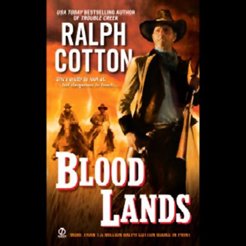 Blood Lands audiobook cover art