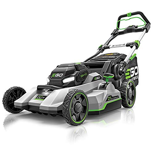 EGO Power+ LM2135SP 21-Inch Select Cut Lawn Mower with Touch Drive Self-Propelled Technology 7.5Ah Battery and Rapid Charger Included