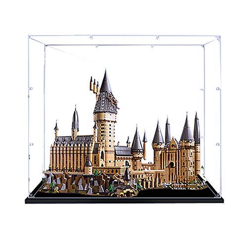 ZHLY Teca Acrilico Vetrina per Lego 71043, Casella di visualizzazione Compatibile per Lego 71043 Harry Potter Castello di Hogwarts (Non Incluso Modello)
