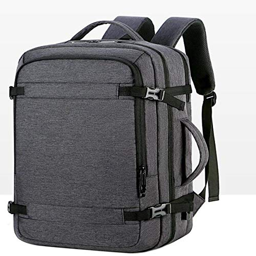 Backpack Bag Shoulder Bag Waterproof Oxford Cloth Men'S Business Computer Bag Multifunction Large Capacity Travel Usb Charging 01