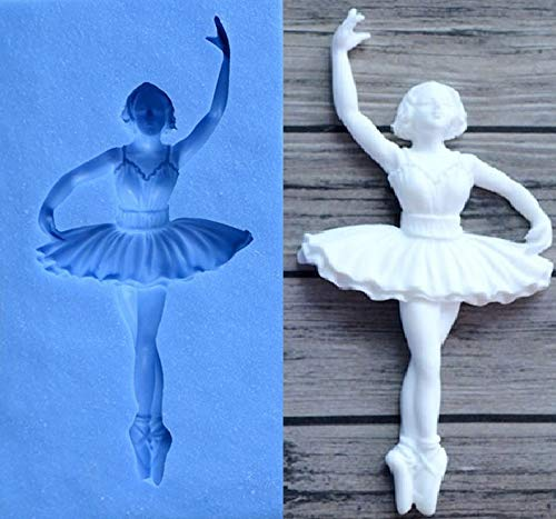Ballerina partij siliconen mal Fondant taart decoreren topper