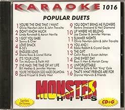 Monster Hits Vol. 1016 Karaoke CDG POPULAR DUETS