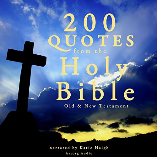 200 Quotes from the Holy Bible audiobook cover art