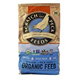 Scratch and Peck Feeds Premium Organic Turkey Grower with Corn - 40-lbs - Non-GMO Project Verified and Certified Organic - 3001-40