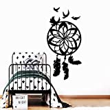 jiuyaomai Wandtattoo Windspiele Wandbild Abnehmbare Wandtattoo Für Wohnkultur Wohnzimmer...