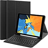 ABOUTTHEFIT iPad 10.2 8th 7th Generation Keyboard Case - Smart Case with Wireless Keyboard iPad...