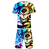Costume de Sport T-Shirt Shorts Costume 3D Anime Pyjama imprimé HD vêtements spéciaux...