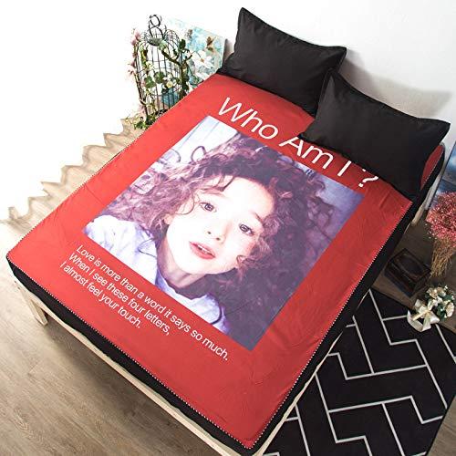 huyiming Verwendet für Einteilige bettdecke 1,2 mt Student schlafsaal Cartoon dünne matratze Abdeckung 1,51,8 Meter 180 cm * 200 cm