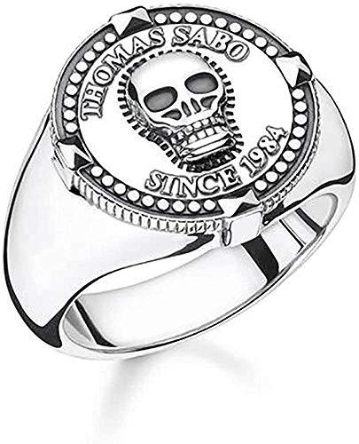 Thomas Sabo Herren-Ringe 925_Sterling_Silber mit \'- Ringgröße 54 TR2210-637-21-54