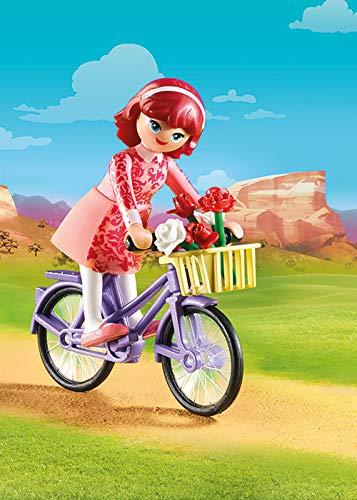 Maricela en bicicleta Spirit Playmobil (70124)