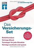 Das Versicherungs-Set: Genaue Bedarfsanalyse - Vertrags- und Versicherungscheck - Sparchancen optimieren - Inkl. Formulare | von Stiftung Warentest