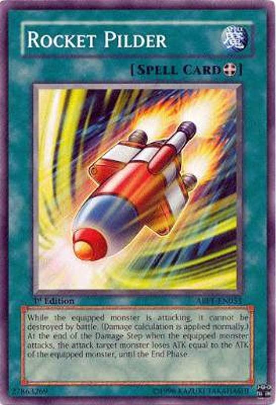 Yu-Gi-Oh! - Rocket Pilder (ABPF-EN051) - Absolute Powerforce - 1st Edition - Common
