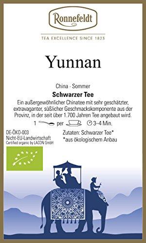 Ronnefeldt - Yunnan - Bio - Schwarzer Tee aus China - 100g