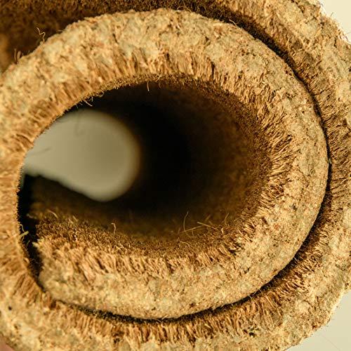 OH NO NOT YOU AGAIN DOORMAT Eco friendly 100% plástico natural libre – coco – Felpudo impreso para interiores – 75 x 45 cm, 20 mm de grosor