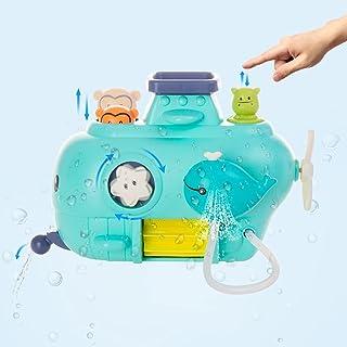 Bath Toys, Submarine Bathtub Toys, 8 Ways to Play, Suitable for 3 4 5 6 7 Year Children Baby Swimming Pool Toys,Toddler Bo...