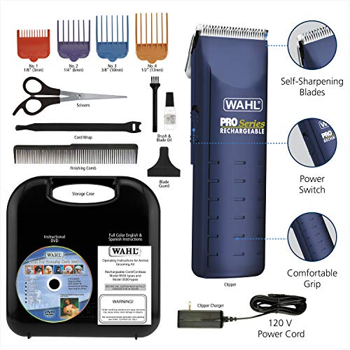 Wahl Home Pet Pro-Series Complete Pet Clipper Kit, for Pet Grooming, Trimming,...