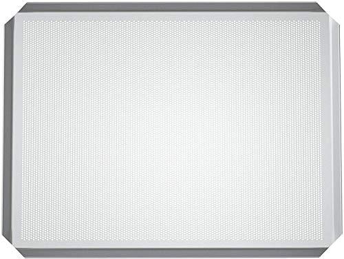 LEHRMANN Lochblech 40 x 30 cm Backblech Kuchenblech Baguetteblech Pizzablech für Backofen AEG Bosch Neff Siemens
