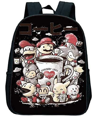 Super Mario School Bag Super Mario Children Cartoon Anime Smash Bros Kindergarten School Rucksack Kids Primary Backpack Gift