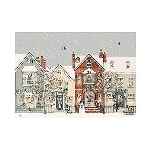 Wrendale Designs Sally Swannell Adventskalender, Schnee Straße