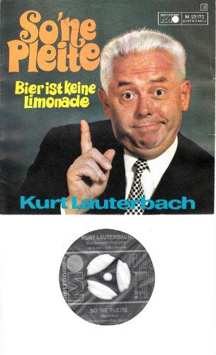 Kurt Lauterbach / So `ne Pleite / Bier ist keine Limonade / 1969 / Bildhülle / metronome # M 25172 / Deutsche Pressung / 7