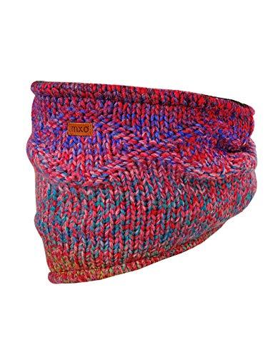maximo Mädchen Tube mit Farbverlauf Schal, Mehrfarbig (Rot-Bunt 6), 2 (Herstellergröße: 2)