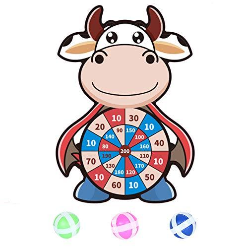 PageantryKinder Dartscheibe Thema Dart Board mit 3 Bällen Kinder Brettspiele Toy-Safe Dart Game-Kinder Geschenk Outdoor Indoor Spiel Wahl
